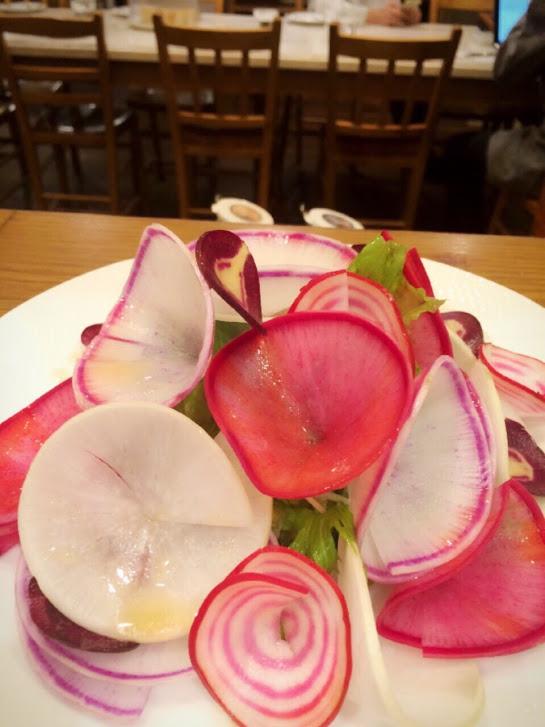 福姫会の野菜がイタリアンレストランBistecca goo ITALIANOで使われています